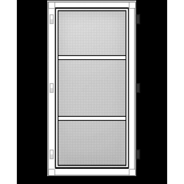 Москитная дверь на петлях в Бресте