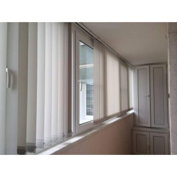 Вертикальные жалюзи на балкон в Бресте