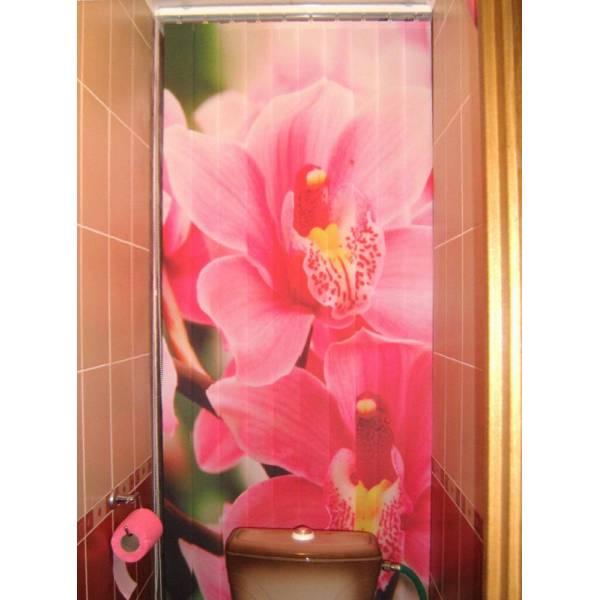 Вертикальные жалюзи в туалет