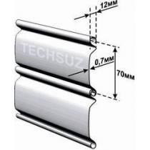 Стальные роллеты из профиля СТ-75