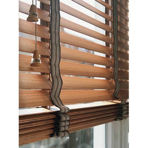 Бамбуковые горизонтальные жалюзи 50 мм