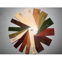 Деревянные горизонтальные жалюзи 25 мм с тесьмой